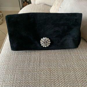 Ann Taylor Genuine Leather clutch Like new